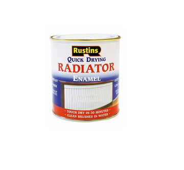 Rustins Quick Dry Radiator Paint Gloss / Satin ALL SIZES AVALABLE