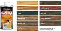Rustins Wood Dye 125ML / 250ML / 1L / 2.5L ALL 11 COLOURS STOCKED