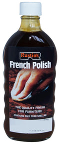 Rustins French Polish Suitable for French Polishing All Light and Dark Wood