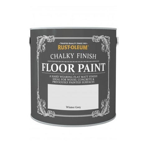 Rust-Oleum Chalk Chalky Wood Floor Paint Chic Shabby Vintage - 2.5L
