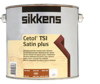 Sikkens Cetol TSI Satin Plus Woodstain Paint - All Sizes - All Colours
