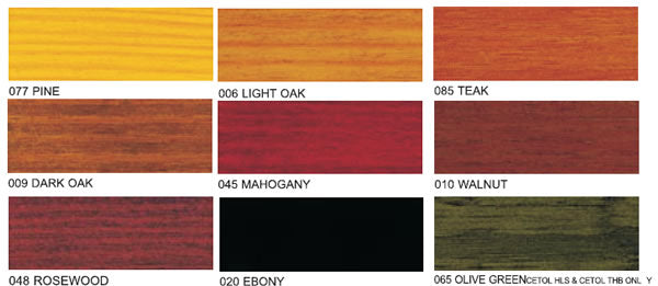 Sikkens Cetol Novatop Woodstain Paint - All Sizes - All Colours