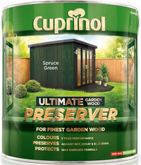 Cuprinol Ultimate Garden Wood Preserver- All Colours - 1L and 4Litre