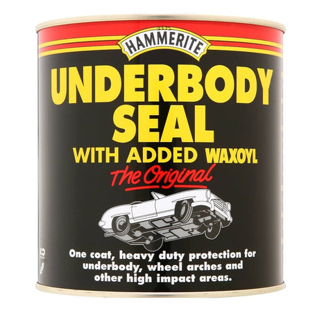 Hammerite - Underbody Seal With Waxoyl - 500ml, 1L, and 2.5 Litre