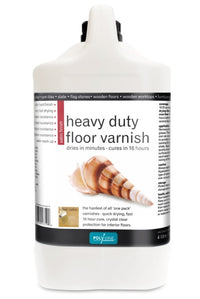 Polyvine Heavy Duty Floor Varnish - Satin 1 L, 2 L, 4 L ALL SIZES AVAILABLE