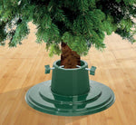 Garland 4 inch / 5 inch Plastic Christmas Tree Stand - Red or Green