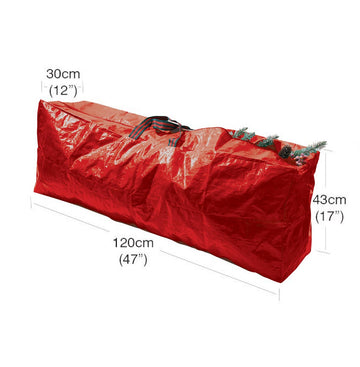 Garland Christmas Tree Storage Bag - Red - 120cm x 25cm