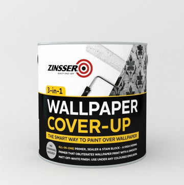 Zinsser Wallpaper Cover Up - 2.5 Litre