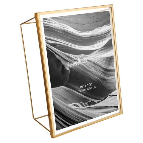 8x10 Wire Frame - Gold