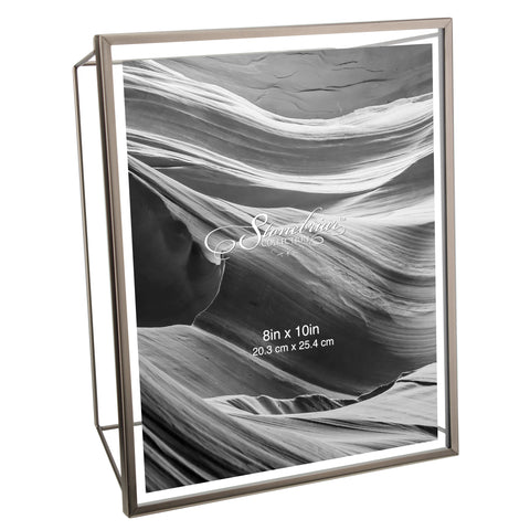 8x10 Wire Frame - Brushed Gunmetal