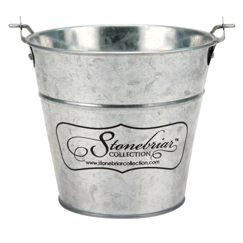 30 Hour Long Burning Citronella Candle with Galvanized Metal Bucket