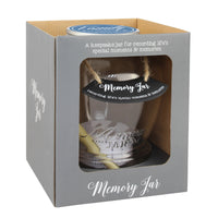 Top Shelf Family Memory Jar With 180 Tickets, Pen, and Decorative Lid