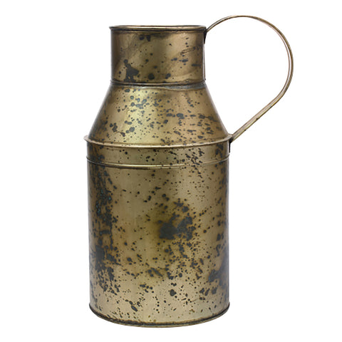 Weathered Brass Oil Can Container | Stonebriar Collection
