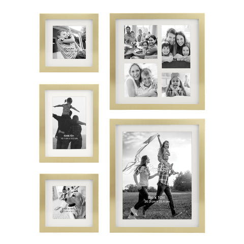 Gold Picture Frames | Gallery Wall Inspiration | Stonebriar Collection