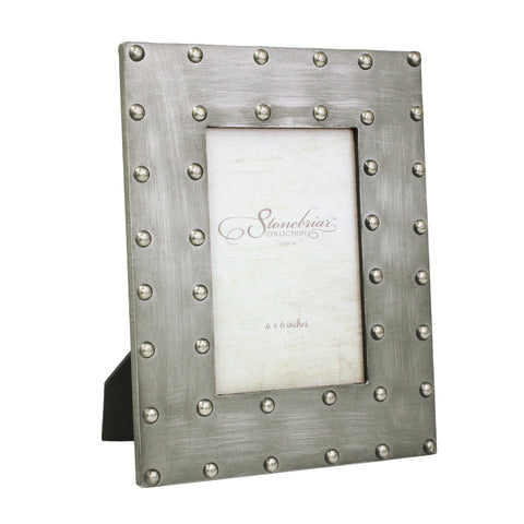 4x6 Metal Wrapped Picture Frame | Industrial Home Decor | Stonebriar Collection