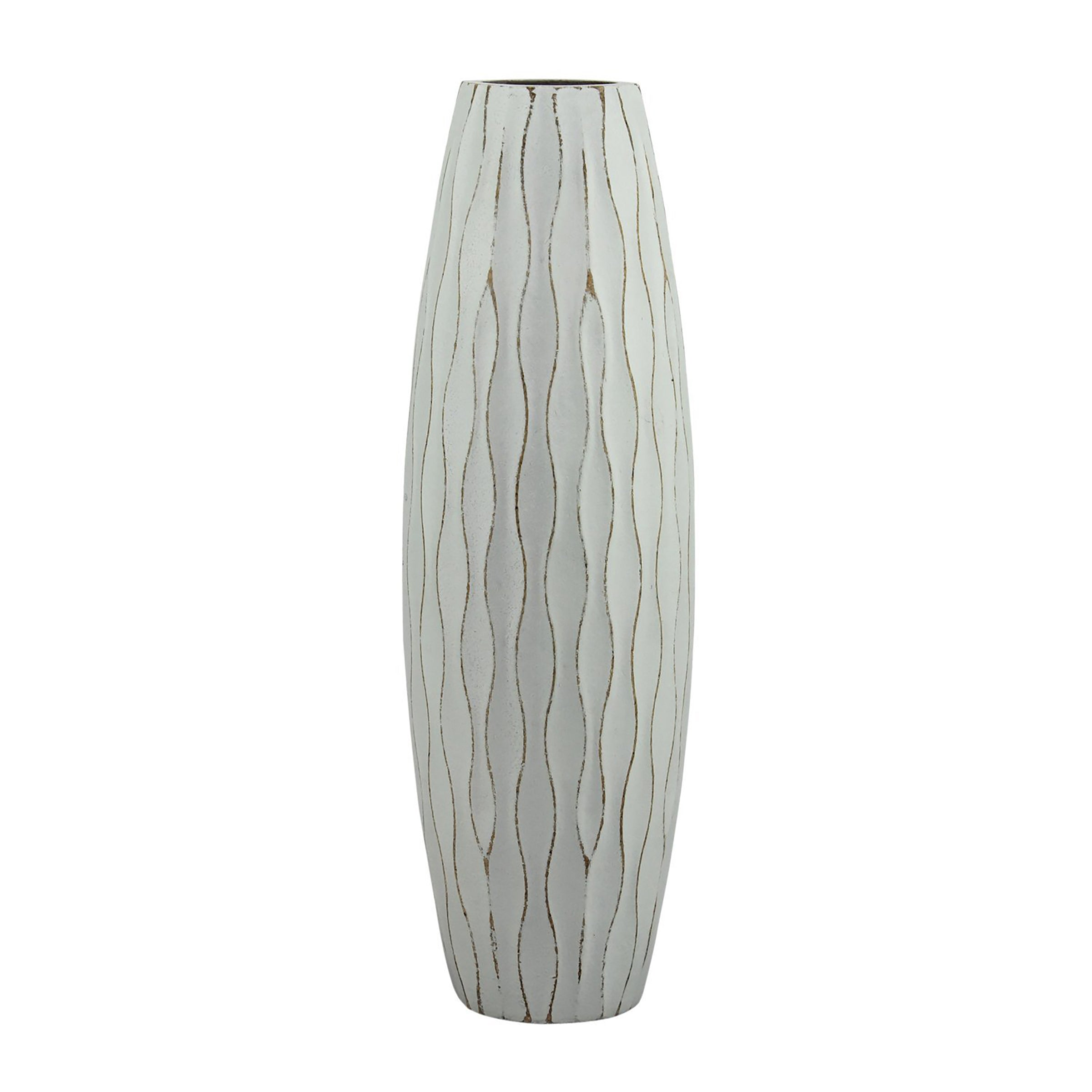 Ocean Blue Wood Vase Set | Nautical Home Decor | Stonebriar Collection