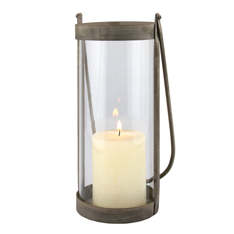Metal Hurricane Candle Lanterns | Stonebriar Collection