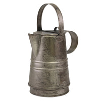 Metal Pitcher with Lid | Rustic Home Decor | Stonebriar Collection