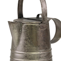 Antique Metal Pitcher with Lid