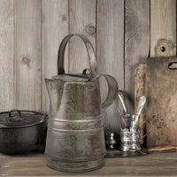 Antique Metal Pitcher | Rustic Home Decor | Stonebriar Collection