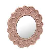 Rose Ceramic Mirror | Stonebriar Collection