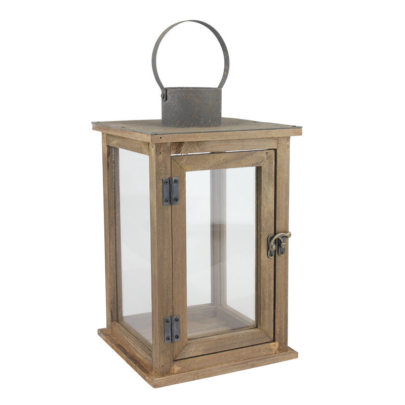 Rustic Farmhouse Lantern | Home Decor | Stonebriar Collection