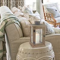 Rustic Lantern Floor Lamp | Stonebriar Collection