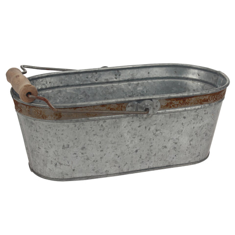 Rustic Metal Bucket | Stonebriar Collection