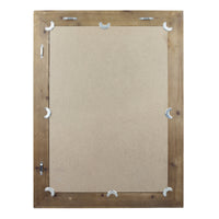 Rectangular Rustic Wood Mirror | Stonebriar Collection