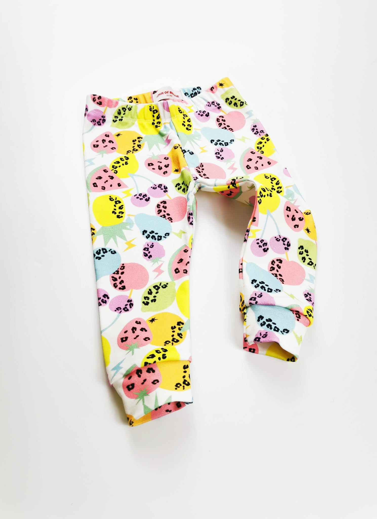 Baby & Toddler Organic Leggings / Tropical Fruit
