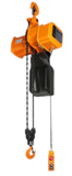 Accolift® CLH Electric Chain Hoist  | Push / Pull Trolley |  2 Ton Capacity | Three Phase / Inverter Control | 13/4 fpm