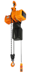 Accolift® CLH Electric Chain Hoist  | Hook Suspended | 1 Ton Capacity | Single Phase / Inverter Control 230V | Speed 27/9 fpm