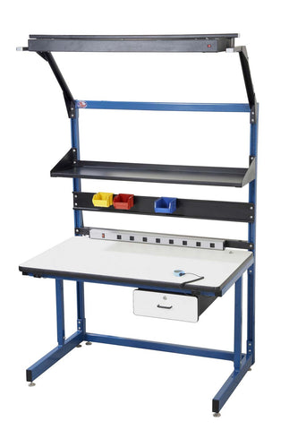 Proline Bench in a box Model K Part #BIB19 Plastic Laminate Cantilever Workbench