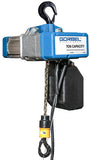 GORBEL GS SERIES ELECTRIC CHAIN HOIST | 1 TON | LIFT SPEED 8 FPM | 460V 3PH | 10 FT. LIFT