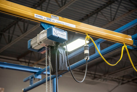 GORBEL GS SERIES ELECTRIC CHAIN HOIST | 1/4 TON | LIFT SPEED 32 FPM | 115V 3PH | 10 FT. LIFT