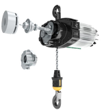 R&M LK Series Hoist | LK25 | 5 Ton | 2 Speed 16/3 | Hook Suspended