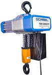 Gorbel Chain hoist  | 2 ton capacity | Single Hole Plate Suspension