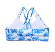 Load image into Gallery viewer, Palm Tree Sports Bra