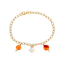 Load image into Gallery viewer, The Imade Fire Opal Spark Bracelet