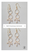 Load image into Gallery viewer, OBIUTO Dangle Earrings in Gold Vermeil