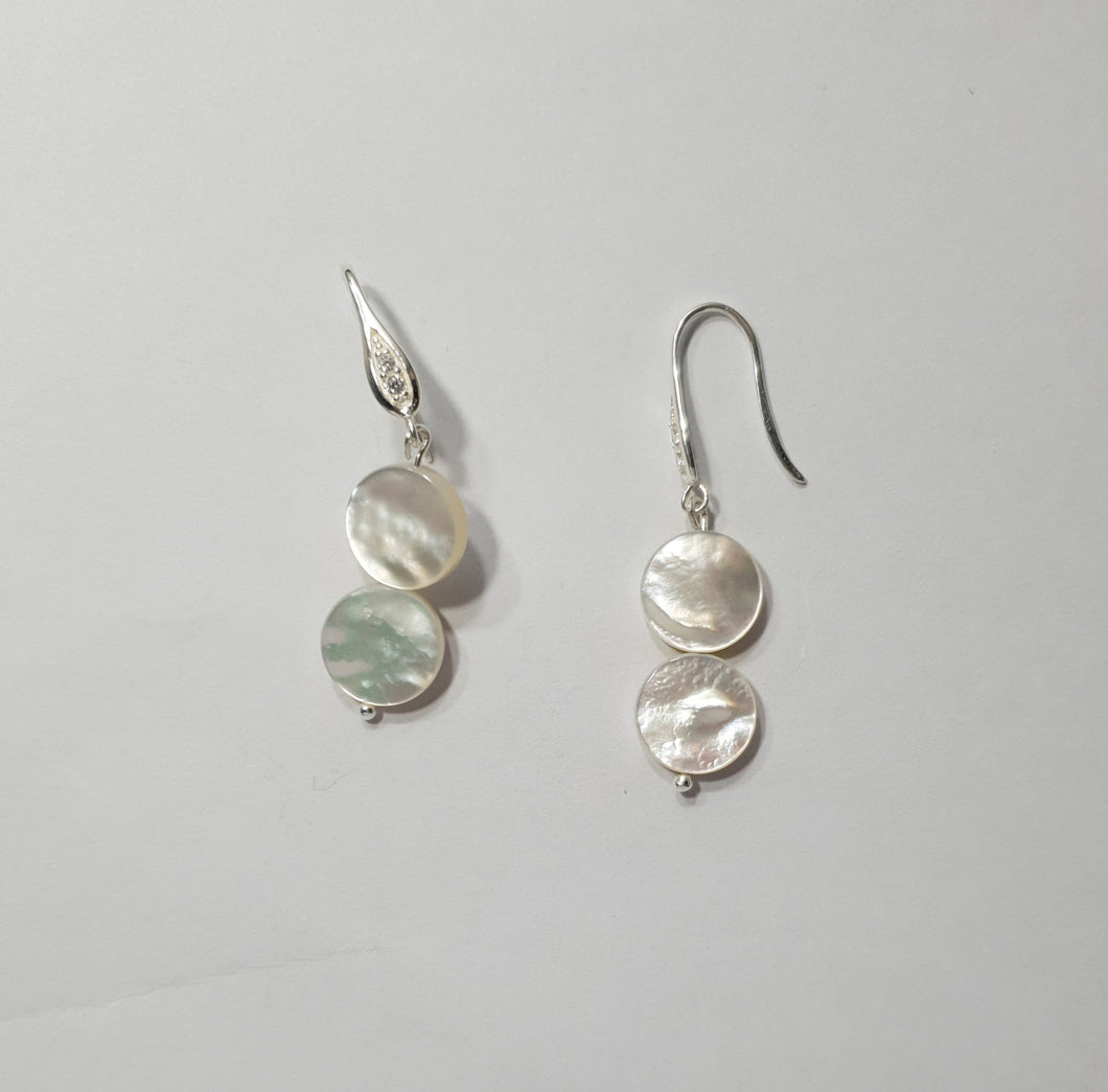 Reve Semi Precious Pearl Earrings