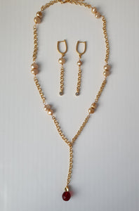 The 'Adaeze Chain Drop' Earrings