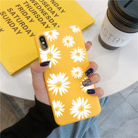 Fruit Flower Soft Phone Case For iPhone 7 Plus X XR XS Max 10 6 6S 7 8 Plus 5 5S SE 2020 Back Cover For iPhone 11 Pro Max Funda