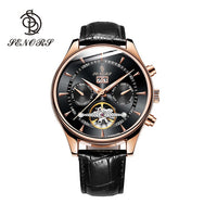 Senors Automatic watch Luxury Men Watches Automatic Black Watch Men Waterproof Automatic Mechanical Wristwatch