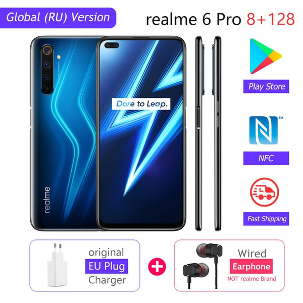 realme 6 Pro Global Version 8GB RAM 128GB ROM Snapdragon 720G
