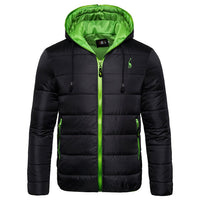 Waterproof Winter Hoodied Jacket for Men