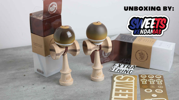 Sweets Kendamas France Unboxing C.Fraser Legend mod batch 2 test by pj martini kendama sweet