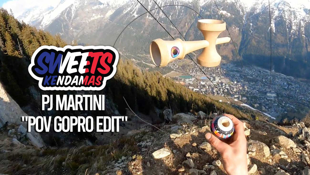 "TEAM - NEW YOUTUBE VIDEO: PJ MARTINI POV Edit #2 ""Lost in the Mountains"" - Sweets Kendamas France"