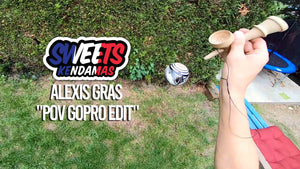 TEAM - New YouTube video: Alexis Gras POV edit with the Zack.G mod - Sweets Kendamas France