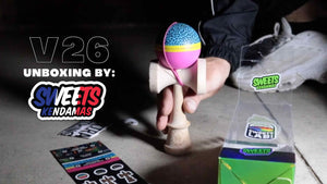 UNBOXING: V26 Custom & test by Alexis Gras - Sweets Kendamas France
